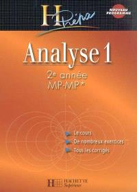 Analyse 1 : 2e année MP-MP*