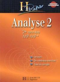 Analyse 2 : 2e année MP-MP*