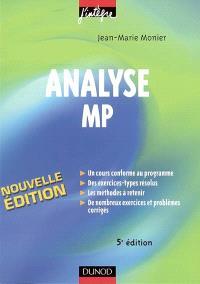 Analyse MP : cours, méthodes et exercices corrigés