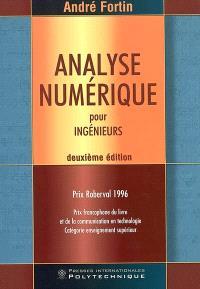 Analyse numérique pour ingénieurs