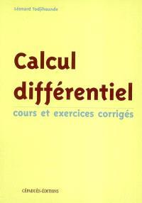 Calcul différentiel : cours et exercices corrigés