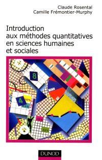 Introduction aux méthodes quantitatives en sciences humaines et sociales