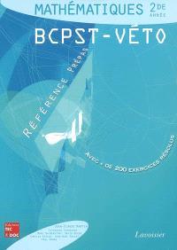 Mathématiques : 2de année, BCPST-véto