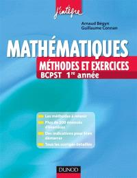 Mathématiques : méthodes et exercices BCPST 1re année