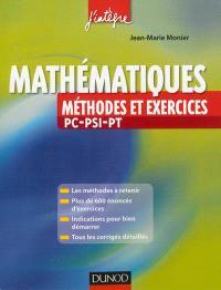 Mathématiques : méthodes et exercices PC-PSI-PT