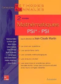 Mathématiques 2e année PSI*-PSI