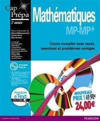 Mathématiques MP-MP* + eText : cours complet avec tests, exercices et problèmes corrigés