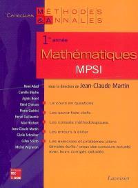 Mathématiques MPSI : 1re année