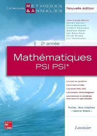 Mathématiques PSI PSI*, 2e année