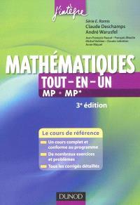 Mathématiques tout-en-un MP-MP* : le cours de référence