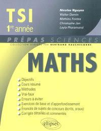 Mathématiques TSI, 1re année
