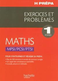 Maths 1re année MPSI-PCSI-PTSI