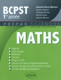 Maths, BCPST 1re année