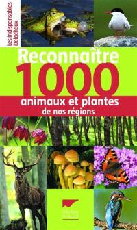 Reconnaître 1.000 animaux et plantes de nos régions