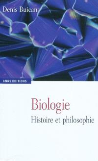 Biologie : histoire et philosophie