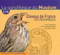 Oiseaux de France : les passereaux