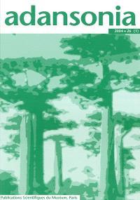 Adansonia. n° 25-2
