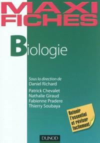Biologie : retenir l'essentiel et réviser facilement
