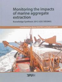 Monitoring the impacts of marine aggregate extraction : knowledge synthesis 2012, GIS SIEGMA