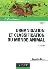 Organisation et classification des animaux : aide-mémoire