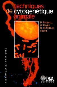 Techniques de cytogénétique animale