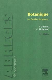 Botanique : les familles de plantes