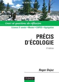 Précis d'écologie : cours et exercices de révision