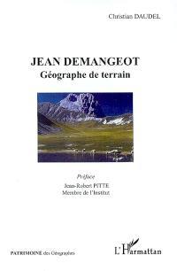 Jean Demangeot : géographe de terrain