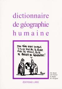 Dictionnaire de géographie humaine