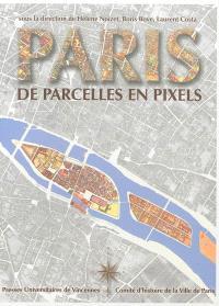 Paris de parcelles en pixels : analyse géomatique de l'espace parisien médiéval et moderne