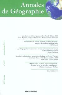 Annales de géographie. n° 677