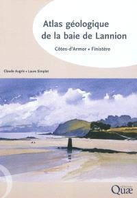 Atlas géologique de la baie de Lannion : Côtes-d'Amor, Finistère