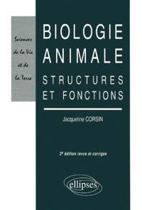 Biologie animale : structures et fonctions
