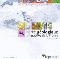 Carte géologique interactive de la France à 1:1.000.000