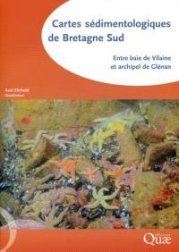 Cartes sédimentologiques de Bretagne Sud : entre baie de Vilaine et archipel de Glénan