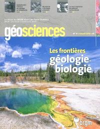 Géosciences. n° 11, Les frontières géologie-biologie