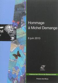 Hommage à Michel Demange : homme de sciences et citoyen du monde : 6 juin 2013