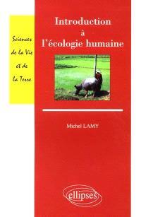 Introduction à l'écologie humaine