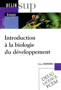 Introduction à la biologie du développement