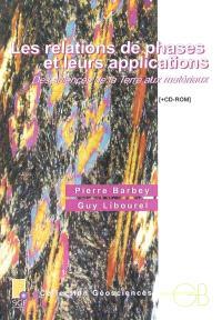 Les relations de phases et leurs applications : des sciences de la terre aux matériaux