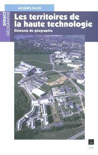 Les territoires de l'innovation : éléments de géographie