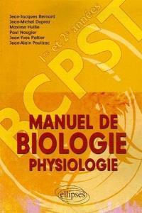 Manuel de biologie-physiologie BCPST 1re et 2e année