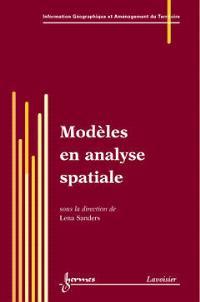 Modèles en analyse spatiale