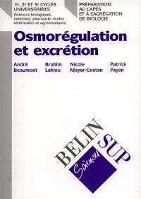 Osmorégulation et excrétion chez les vertébrés