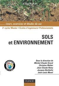 Sols et environnement : cours et études de cas