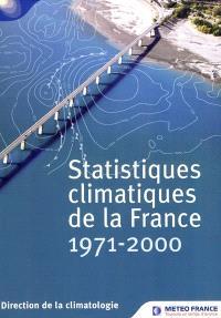 Statistiques climatiques de la France : 1971-2000