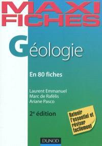 Maxi fiches de géologie : en 80 fiches