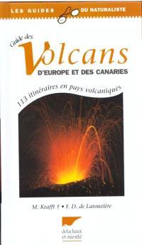 Guide des volcans d'Europe et des Canaries