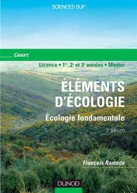 Eléments d'écologie : écologie fondamentale, paysage et biodiversité