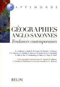 Géographies anglo-saxonnes : tendances contemporaines